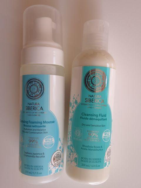 All my cosmetics: Přípravky na čištění pleti Natura Siberica