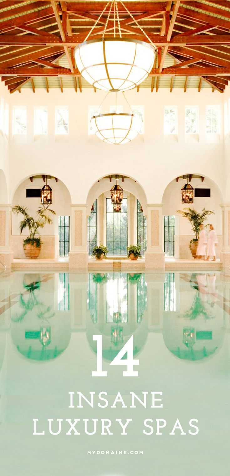 14 Insane Luxury Spas