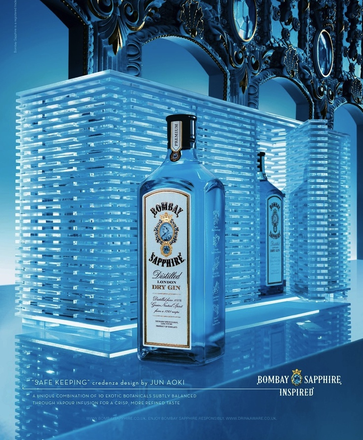 """Safe keeping"" - Jun Aoki (Bombay Sapphire Inspired)"