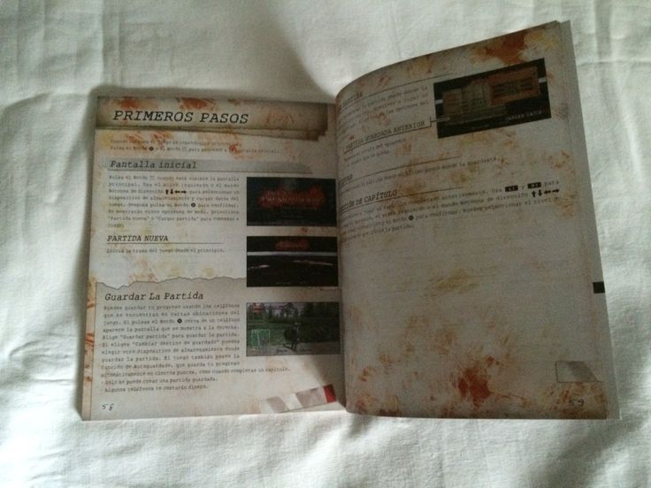 Deadly Premonition The Director's Cut manual page.