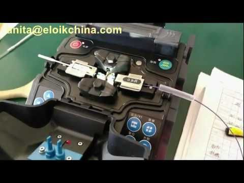 Eloik optical fusion splicer fuse fast SC connector