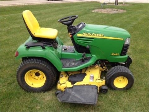 2003 JOHN DEERE X495 Riding Lawn Mowers For Sale At TractorHouse.com 3 cyl. Yanmar Diesel engine