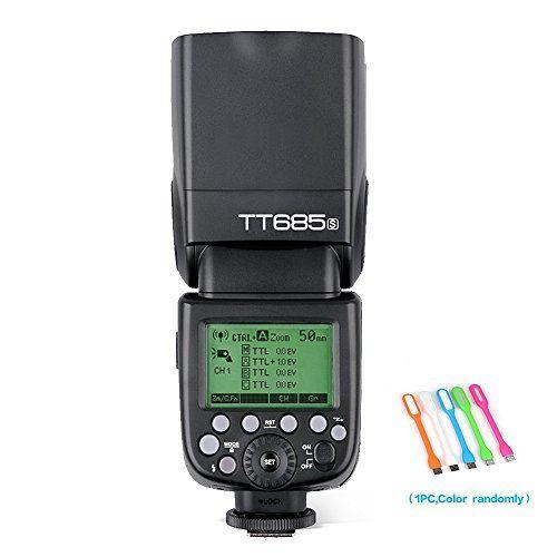 Godox Thinklite TT685S TTL Camera Flash speedlite High Sp... https://www.amazon.com/dp/B01DVKBQEY/ref=cm_sw_r_pi_dp_x_o4ucAbBY2SENV