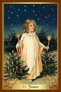 Перекрестки Таро - таролог Лина Айн: Карта-совет от колоды Christmas tarot - Правосудие...