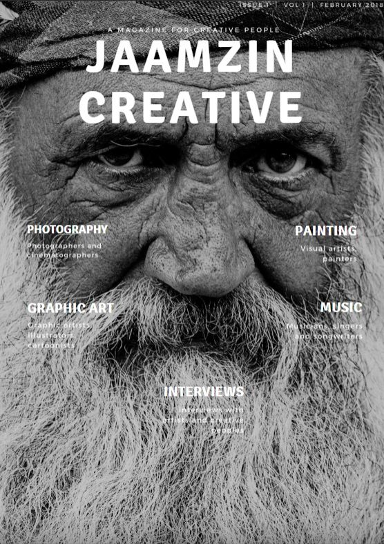 The first issue of JaamZIN Creative Magazine is out