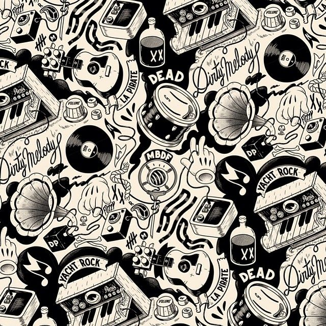 McBess - French illustrator who effortlessely crosses the modern with the…