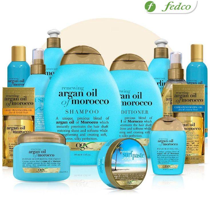 #TemporadaDeEmociones Si tienes un cabello graso o rebelde, utiliza la línea de OGX aceite de argán para reparar y suavizar intensivamente tu cabello. ¡Disfruta de sus propiedades!