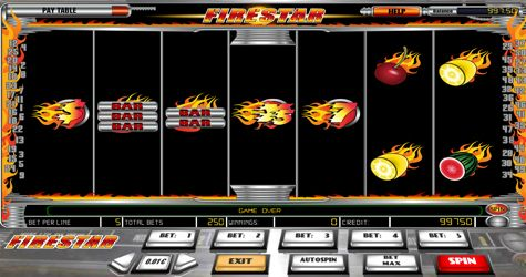 The #FireStar Vegas slot machine is a great game to play if you are looking for a retro experience without all the #bells and whistles. It offers three reel spins with the option for you to play a good #classic slot. Fire Star is offering relaxing throwback features to give the eighties look and feel. Its set-up to provide maximum gameplay without the extras such as #bonus rounds, wild symbols or the excessive pay-lines.