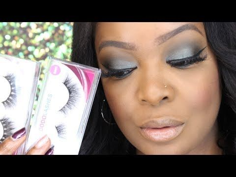 Dodo Mink Lashes || Try On Demo - YouTube