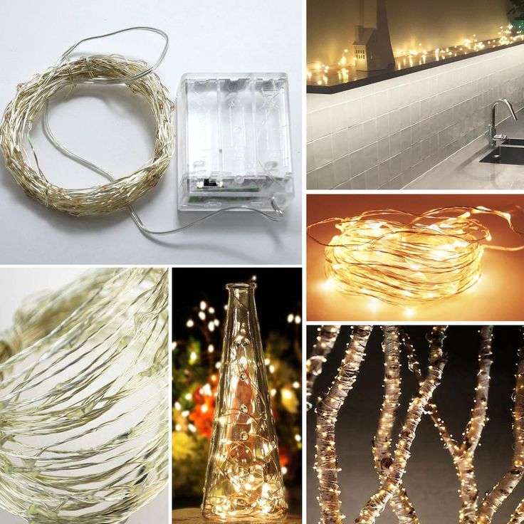 100-LED Seed Light (Silver) 10m - Warm White