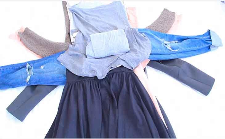 Ahorra espacio al empacar tu ropa con este grandioso truco.