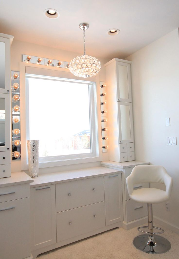 Amazing White Makeup Vanity I Need This More Than