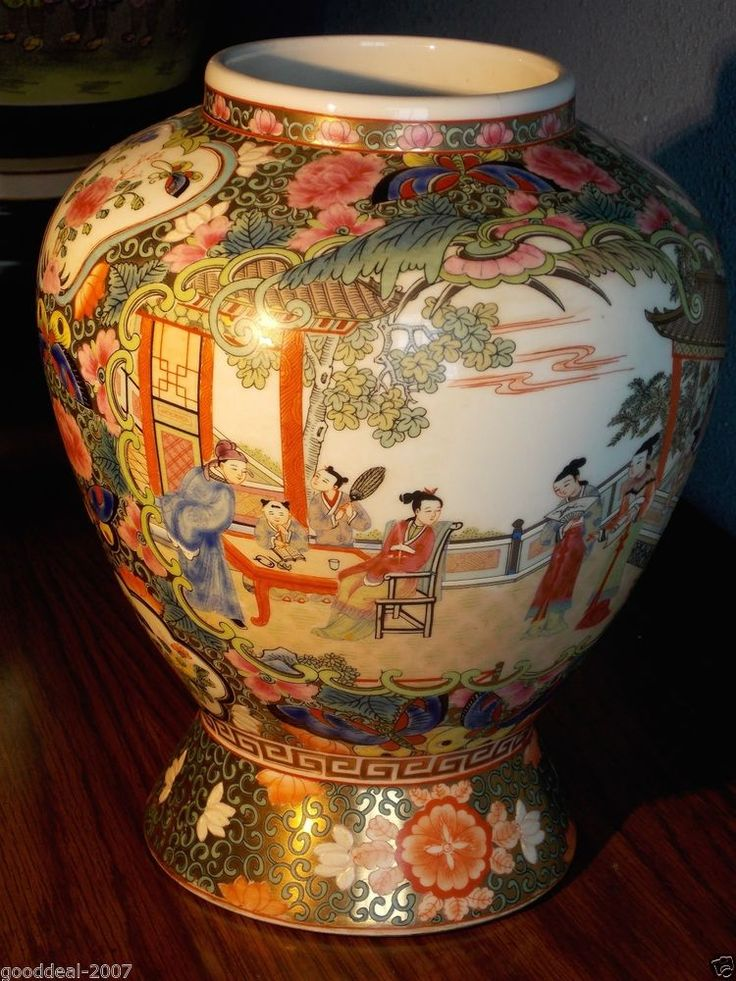 17 Best Images About Chinese Rose Mandarin Porcelain On