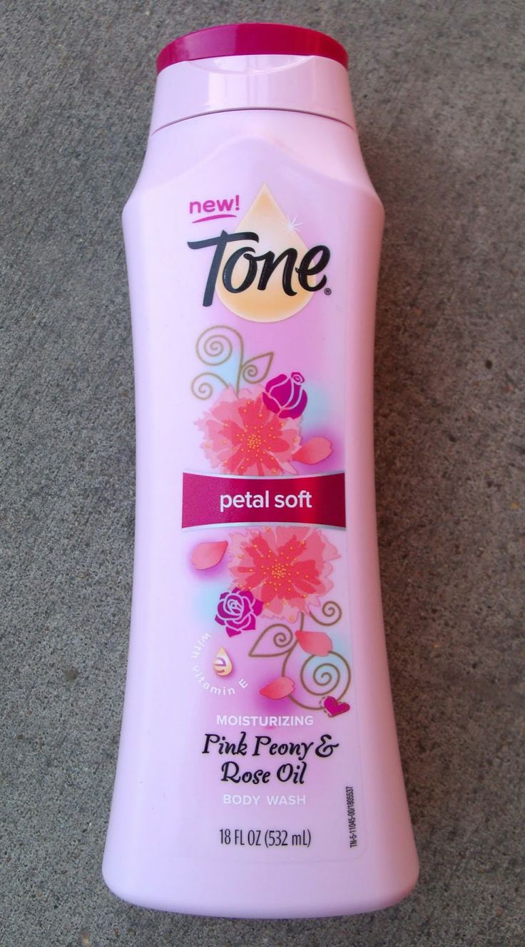 Toria's Treasure Chest: Tone - Body Wash - Petal Soft - Pink Peony & Rose Oil