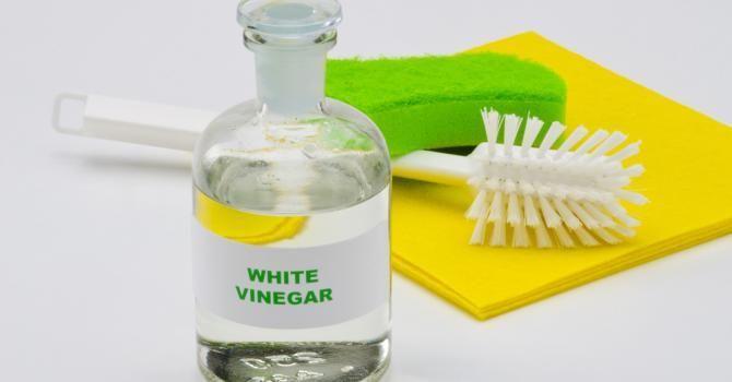 10 choses insolites à faire avec du vinaigre blanc