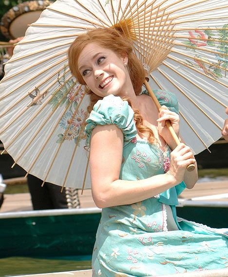 Amy Adams- Loved the movie Enchanted, and the pairing of her with Patrick Dempsey.  Her clothes and hair in this movie were adorable.  I wouldn't mind having this dress!  I don't know where I would wear it, but I still want it :)