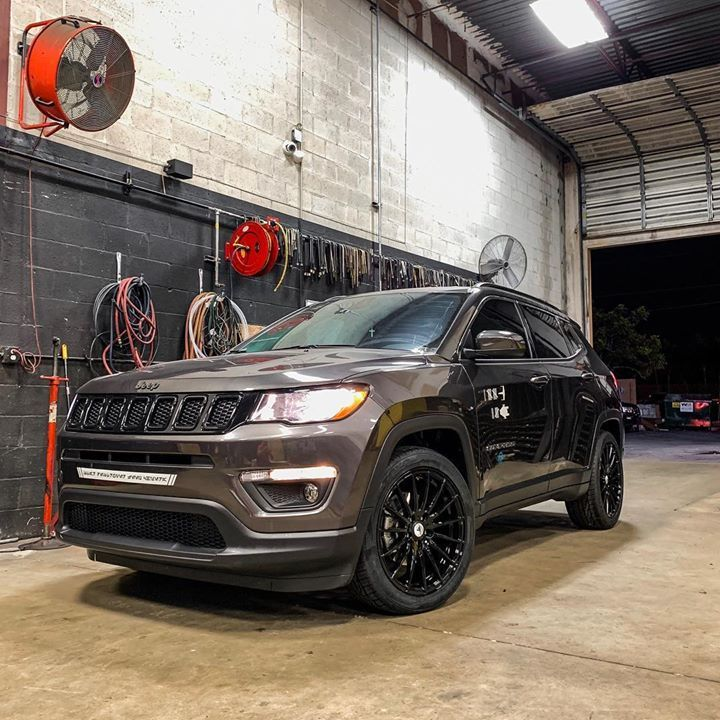 Jeep Compass Came In For A Wheels And Tire Upgrade From The Stocks