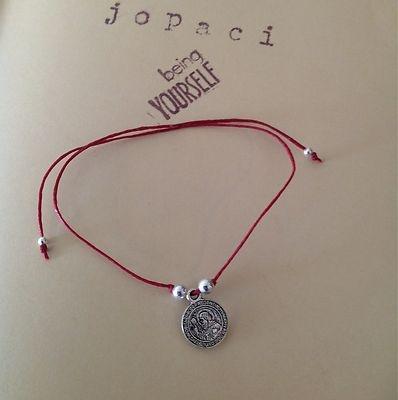 Pulcera de Protección Con Medalla de San Benito Diseño Exclusivo de Jopaci | eBay