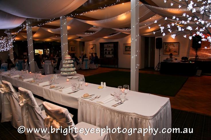 Peninsula Country Club, VIC  Reception decorations  www.brighteyesphotography.com.au