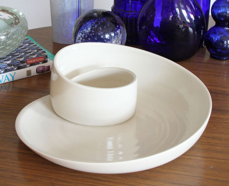 Porcelain Serving Plate - Whirl Serving Plate - Unique Modern Pottery by kimwestad on Etsy https://www.etsy.com/listing/257656444/porcelain-serving-plate-whirl-serving