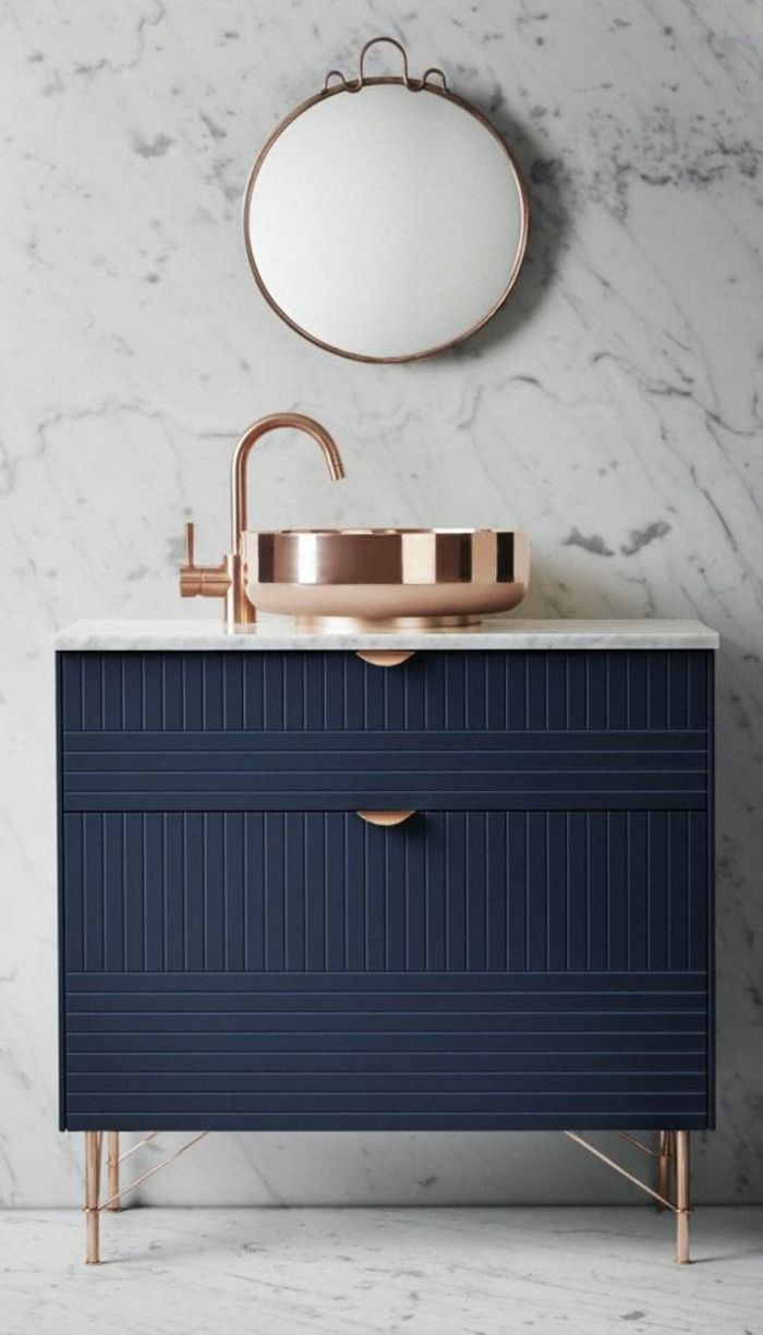 Salle De Bain Zellige Bleu : vasques à poser de salle de bain