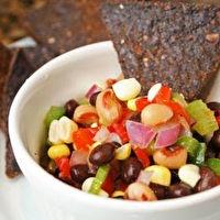 Healthy Texas Caviar with avocado, splenda, and apple cidar vinegar ...