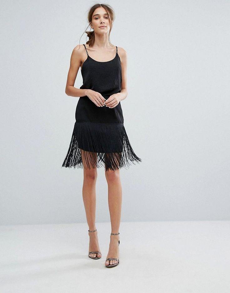 Get this Zibi London's tube skirt now! Click for more details. Worldwide shipping. Zibi London Fringed Pencil Skirt - Black: Skirt by Zibi London, Lightweight woven fabric, High-rise waistband, Fringed hem, Zip-back fastening, Regular fit - true to size, Machine wash, 100% Polyester, Our model wears a UK 8/EU 36/US 4 and is 169cm/5'6.5 tall. (falda de tubo, tubos, corte de tubo, ajustada, ponti, pencil, stretch, ajustadas, tube, tight, waisted, bodycon, slim fit, schlauchrock, falda de tubo…