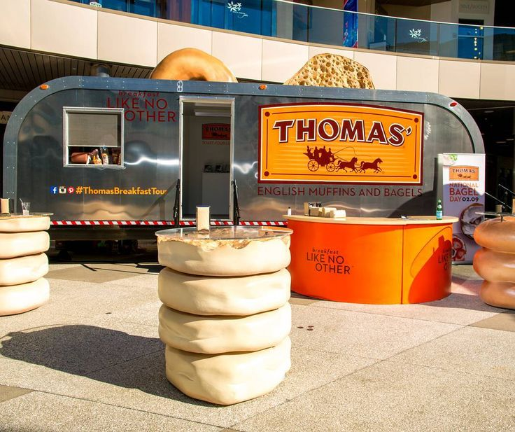 TOMORROW: JoinThomas English Muffins and Bagelsand ME for Chicago's best running celebration: THE SHAMROCK SHUFFLE!! #ThomasBreakfastTour will be at Grant Park near the Buckingham Fountain with a 28-foot interactive toaster trailer.  Come have some tasty Thomas English Muffins and bagels with me and my family from 10 a.m. 12 p.m. spon  Follow @thomasbreakfast as they head to #Chicago -- you can't miss the HUGE toaster!! #breakfast #breaky #breakfasttime #bagels #bagelsforlife #thomasbagels…