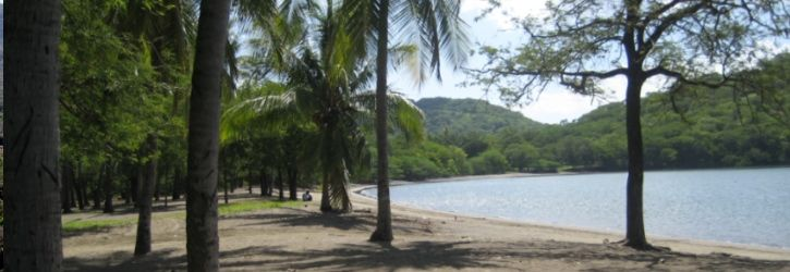 Playa Panama, Costa Rica Playa Panama is a family beach located in the Gulf of Papagayo, known for its superb beaches and sunsets. It is great for swimming and snorkeling and for taking long strolls on the beach