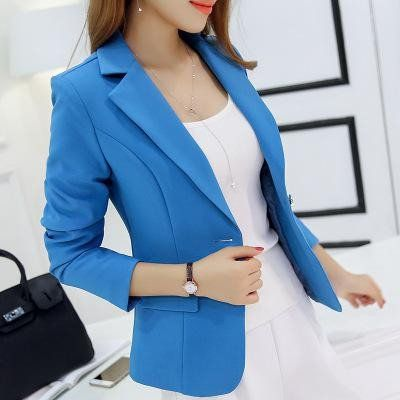 New Long-sleeved Slim Women Blazers And Jackets Small Women Suit Korea – Enso Store