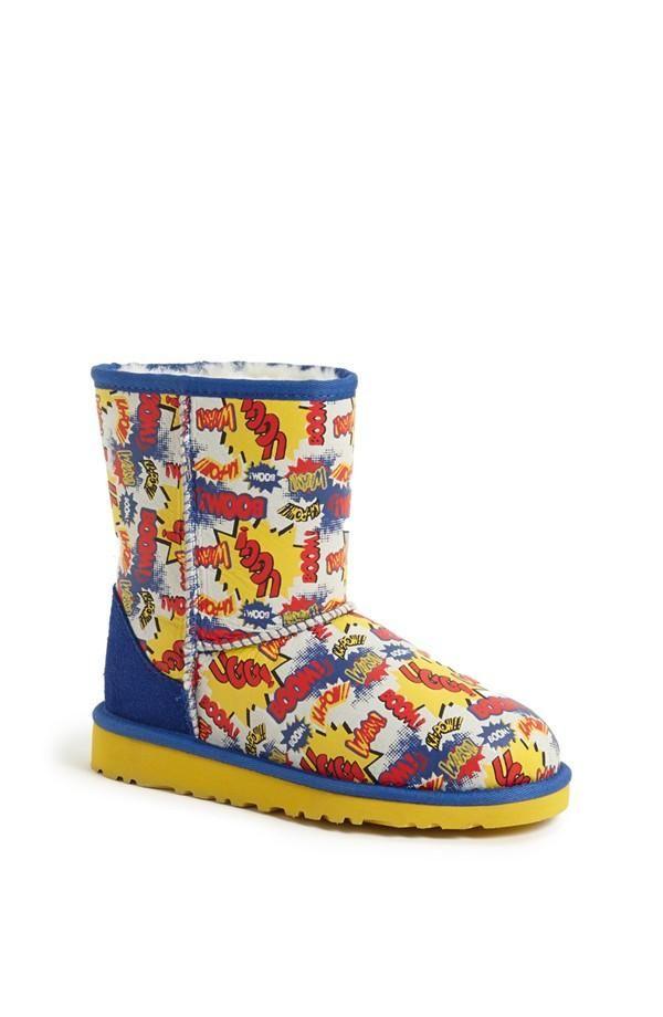 Fun comic strip Ugg boots