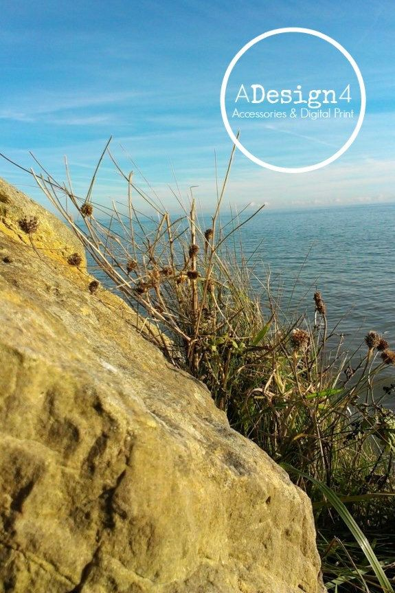 Landscape photography - Seaside In Hastings, United Kingdom - Sea & Rocks - Nature Photography Print - Instant Download - Digital Art - pinned by pin4etsy.com