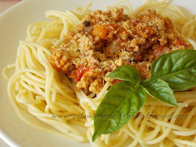 Gotowanie jest łatwe: Spaghetti bolognese z malmą
