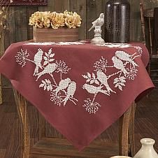 Craftways® Swallow Silhouettes Table Topper Stamped ...