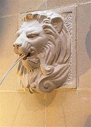 Attractive Harlestone Lion Wall Fountain