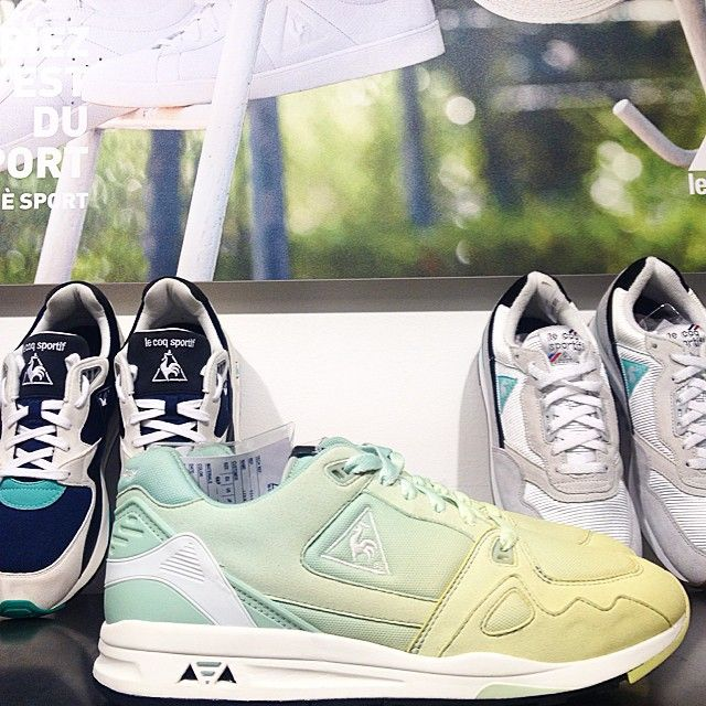shades of spring for le coq sportif! #lecoqsportif #spring #shades #sneakers #streetstyle #probeatagency