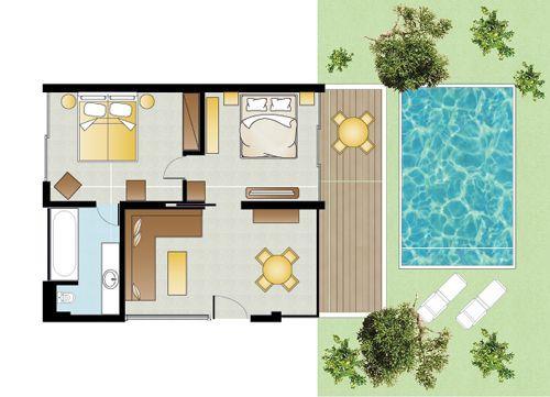 Τουριστική πισίνα