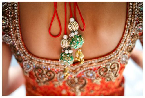 cute backless choli