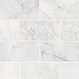 MSI Arabescato Carrara 12″ x 24″ Marble Field Tile
