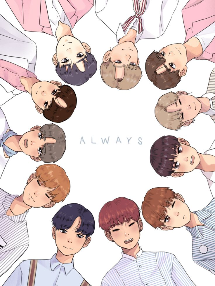 ALWAYS -WANNA ONE FANART