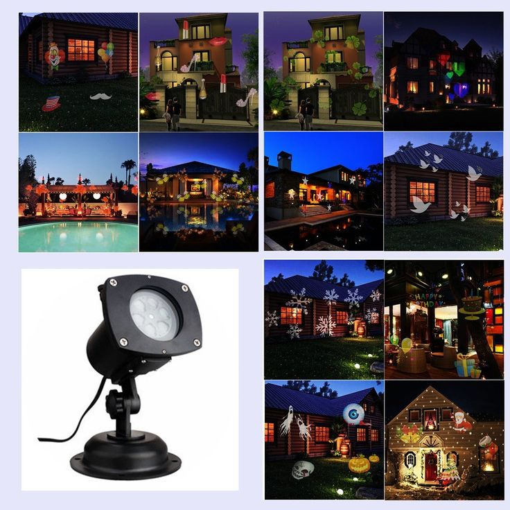 Christmas Halloween Laser Light Projector for Outdoor