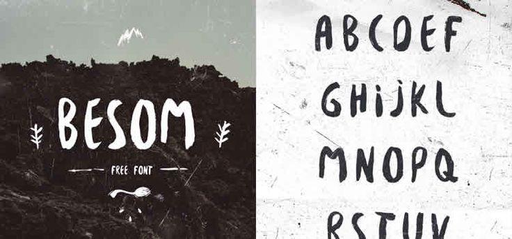 15 Beautifully Imperfect Free Brush Fonts