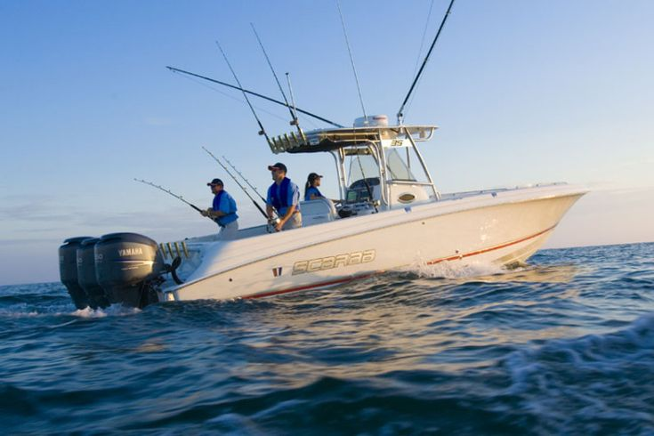 Wellcraft Marine Scarab 35 Tournament fishing boat
