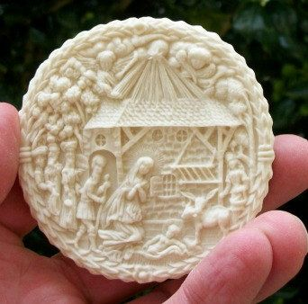 Nativity Scene Springerle Cookie Mold. $37.75, via | Cookie Molds