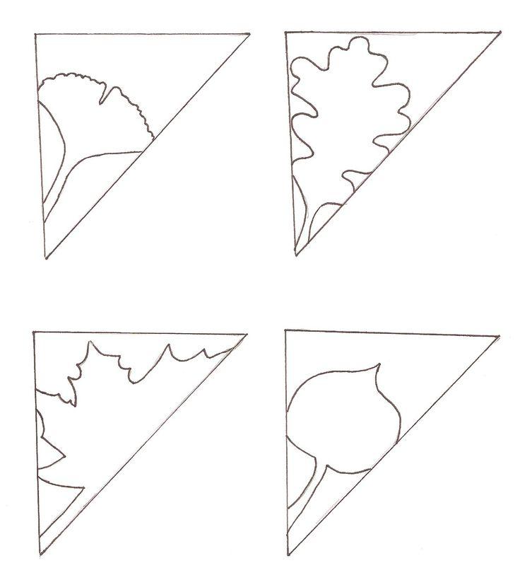OLha que amor folhas de diversos formatos, vou fazer para me servi de marcador de livro.             Fonte: zakkalife.com