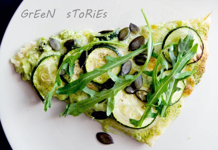 zielona pizza :)