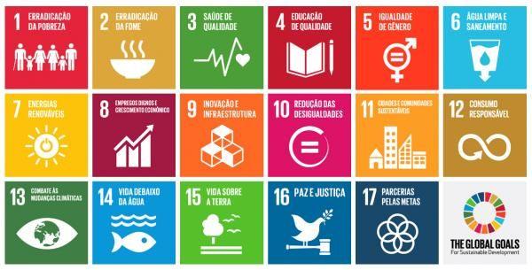 Os 17 Objetivos do Desenvolvimento Sustentável (ODS) que serão durante a Cúpula da ONU