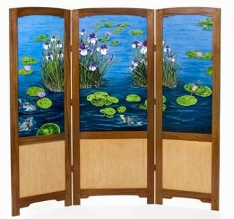 room dividers and folding screens hand made folding screenroom divider by floating stone
