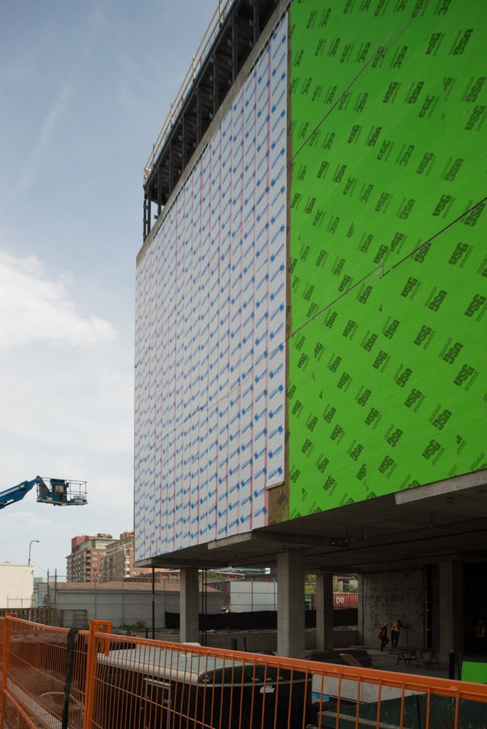 Phase 1 of photography - documenting Data Centre's transformation into one of Toronto's #brilliantbuildings