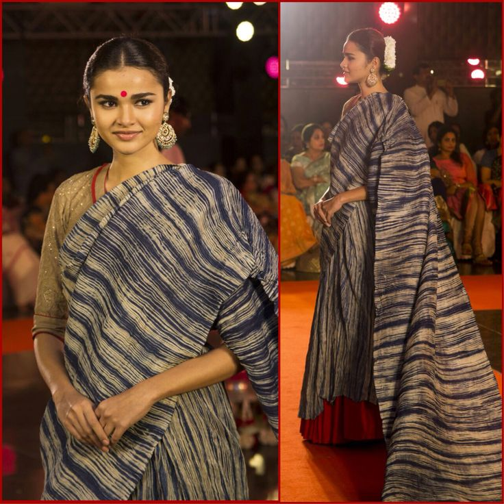 Just in! Photo from #Kausalyam, the Crafts Council of Telengana and #GaurangShah fashion show in Hyderabad.